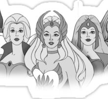 She-Ra Princess of Power - The Great Rebellion #2 - Black & White Sticker