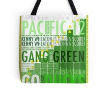 University of Oregon Football Poster - GO DUCKS Tote Bag
