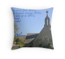 God is Everything! Throw Pillow