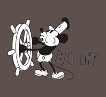 Tug Life (Steamboat Willie) by fourblackbirds