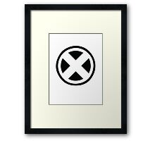 X- People Framed Print