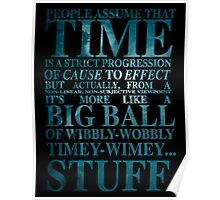 Dr Who Quote - David Tennant Poster