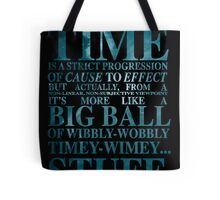 Dr Who Quote - David Tennant Tote Bag