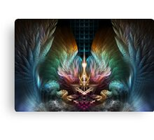 The Wings Of Artillian Canvas Print