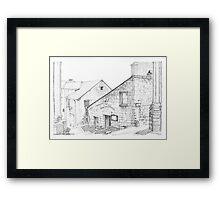 Candes St Martin - Loire Valley, France Framed Print