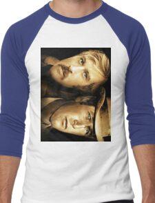 Robert Redford, Paul Newman  Men's Baseball ¾ T-Shirt