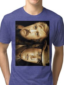 Robert Redford, Paul Newman  Tri-blend T-Shirt