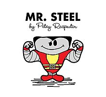 Mr Steel Photographic Print