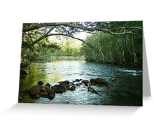 Broadwater bend. North Queensland Greeting Card
