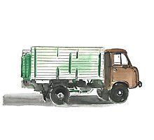 Soviet Truck  Photographic Print