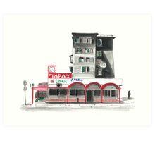 Soviet Apartment in Kazakhstan  Art Print