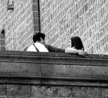 Love on the Walls Sticker