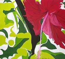 """Hibiscus"" by Julie Gilmore"