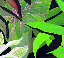 """Tropical Garden"" by Julie Gilmore"