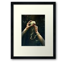 Sin Framed Print