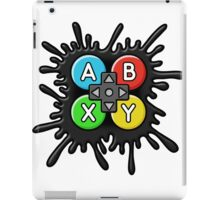 ABXY Video Game Party Band Logo iPad Case/Skin