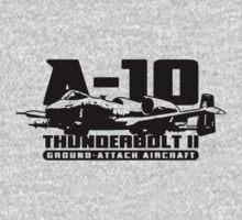 A-10 Thunderbolt II One Piece - Long Sleeve