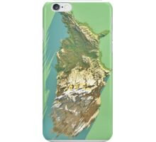 iPhone skin - 3D Fantasy Map of United States of America iPhone Case/Skin