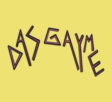 Das Gayme Retro Logo! by Madwatcher
