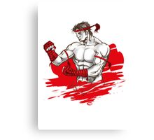 Muay Thai : Born to Fight Canvas Print