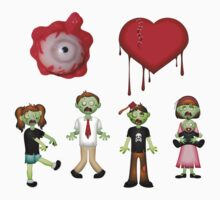 Eye Heart Zombies by FireFoxxy