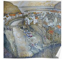 Roxby Beck 2, Staithes Poster