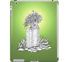 A pot of Wandering Jew iPad Case/Skin