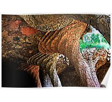 """Park Güell"" by Gaudi Poster"