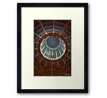 Cathedral Roof Interior 2 Framed Print