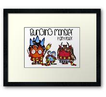 Bungling Monster: Harry Potter Edition Framed Print