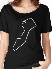 Guia Circuit [outline] Women's Relaxed Fit T-Shirt