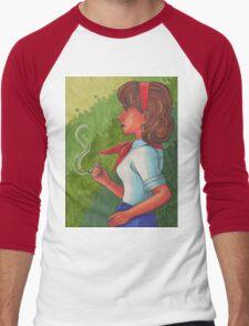 Firefox Men's Baseball ¾ T-Shirt