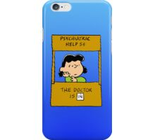 Lucy - The doctor is in iPhone Case/Skin