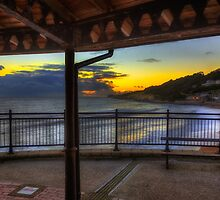 Ventnor Sunset by manateevoyager
