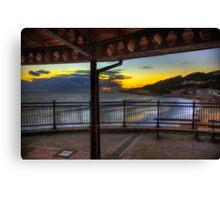 Ventnor Sunset Canvas Print