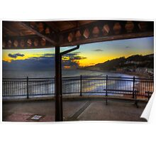 Ventnor Sunset Poster