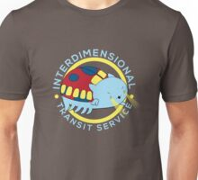Interdimensional Transit Service Unisex T-Shirt