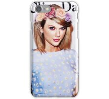 Taylor Swift - Colorful Flower Crown iPhone Case/Skin