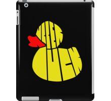 Rubber Duck iPad Case/Skin