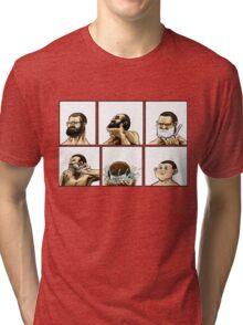 beard Tri-blend T-Shirt