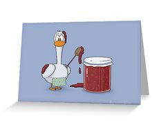 Mucky Goose Greeting Card