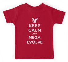 Keep Calm And Mega Evolve Kids Tee