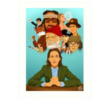 The World of Wes Anderson Art Print