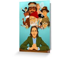 The World of Wes Anderson Greeting Card