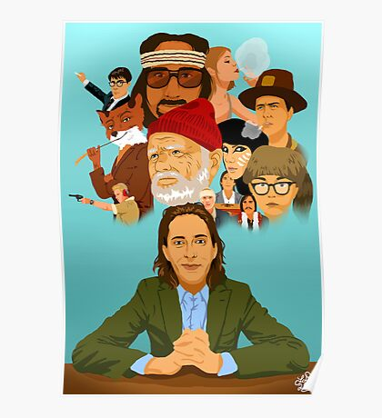 The World of Wes Anderson Poster