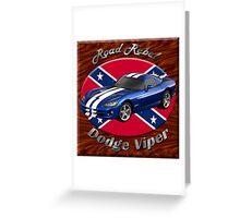 Dodge Viper Road Rebel Greeting Card