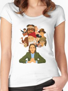 The World of Wes Anderson Women's Fitted Scoop T-Shirt