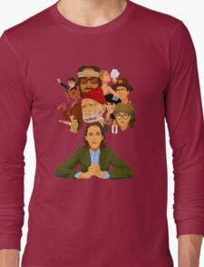 The World of Wes Anderson Long Sleeve T-Shirt
