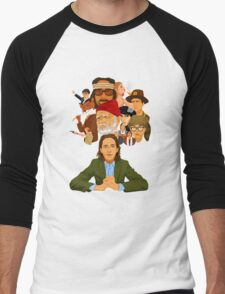 The World of Wes Anderson Men's Baseball ¾ T-Shirt