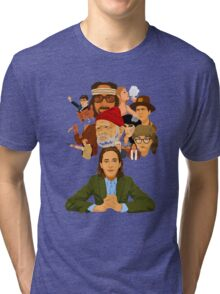 The World of Wes Anderson Tri-blend T-Shirt